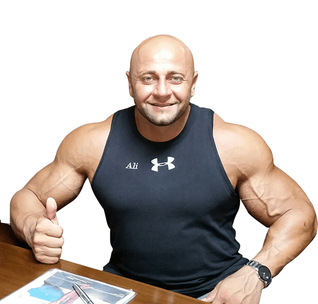 Dallas top personal trainer and sports nutritionist Ali Taktak