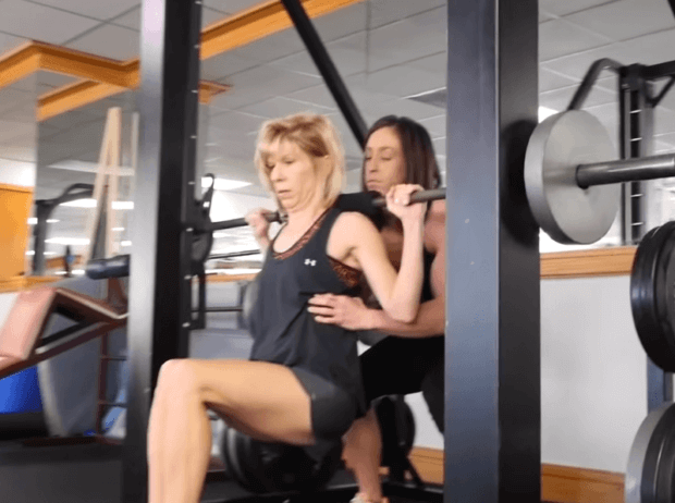 muscle toning female trainer Dallas transformation story