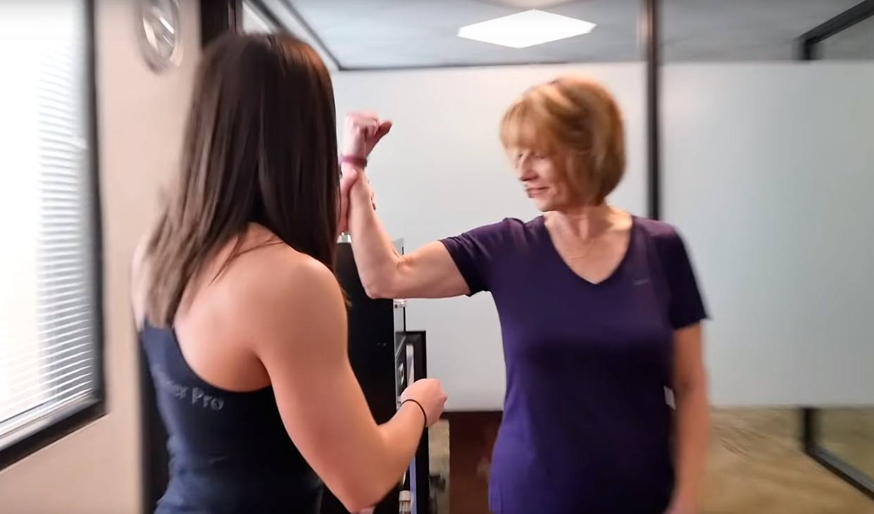 weight loss personal trainer for seniors Dallas transformation story