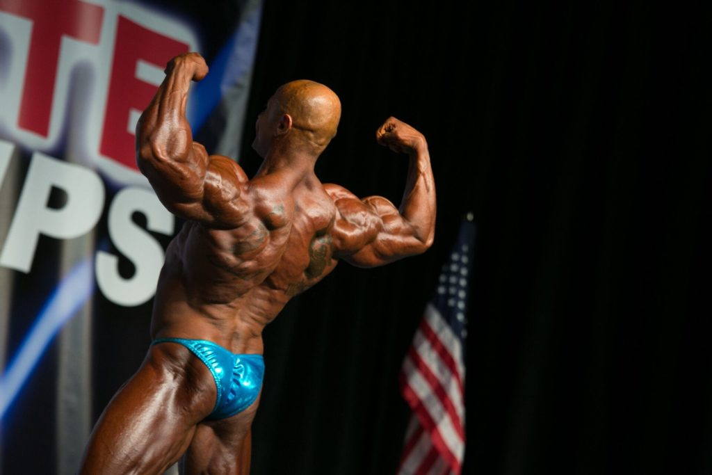 Bodybuilding champion Ali Taktak