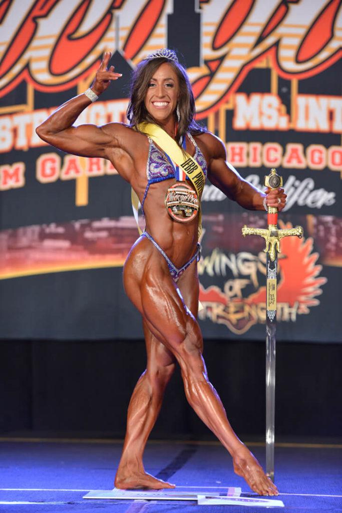 Bodybuilding champion Sarah Villegas