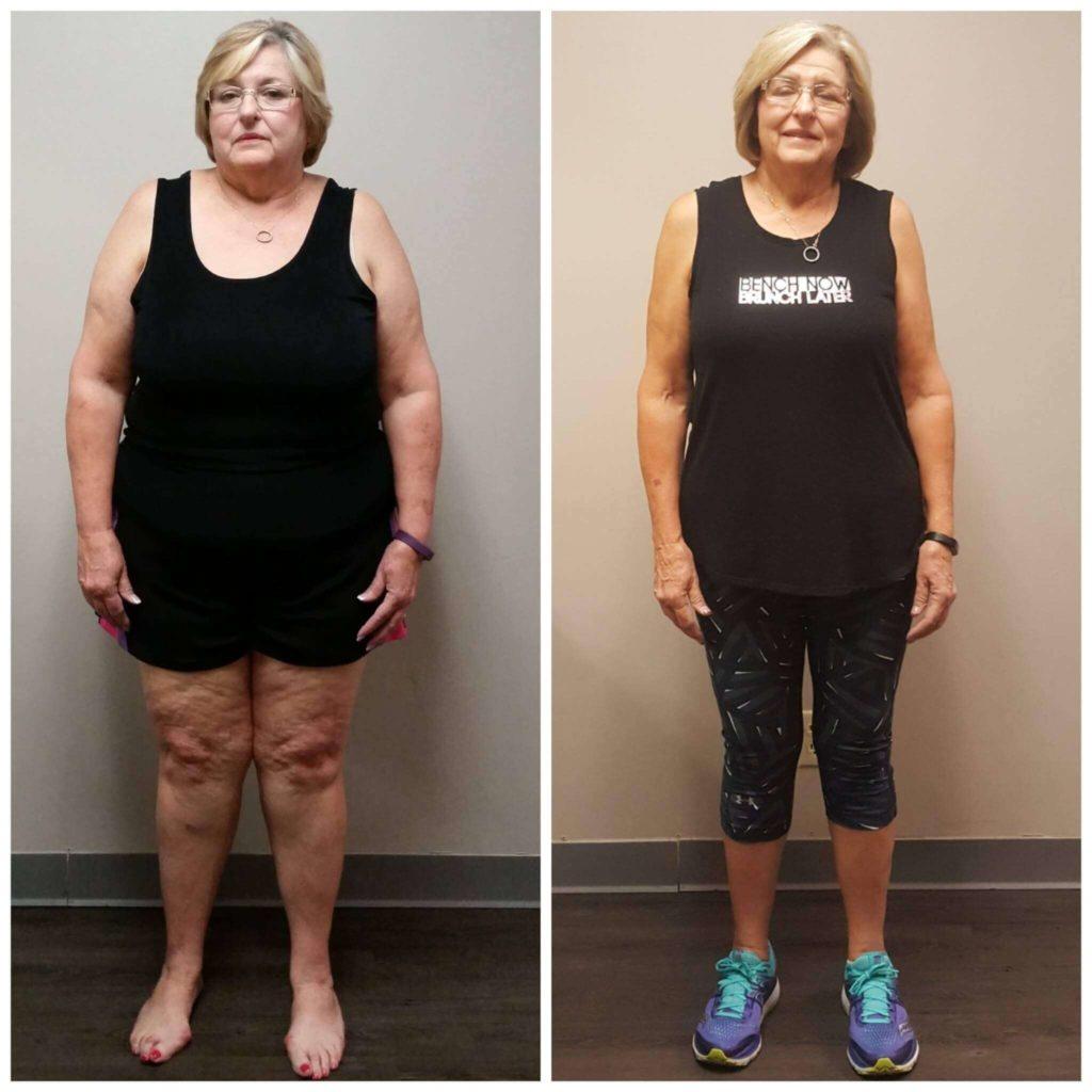 Brenda weight loss coach for seniors Dallas