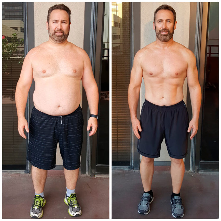 Brian personal training Dallas weight loss