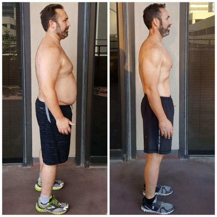 Brian weight loss personal training Dallas