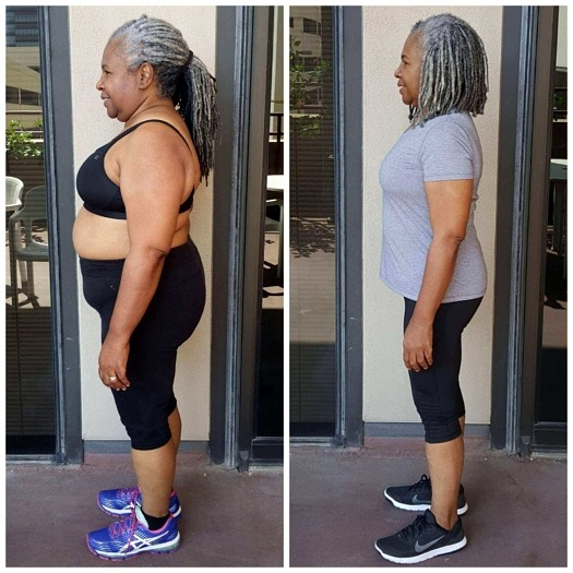 Carlyn weight loss personal trainer Dallas