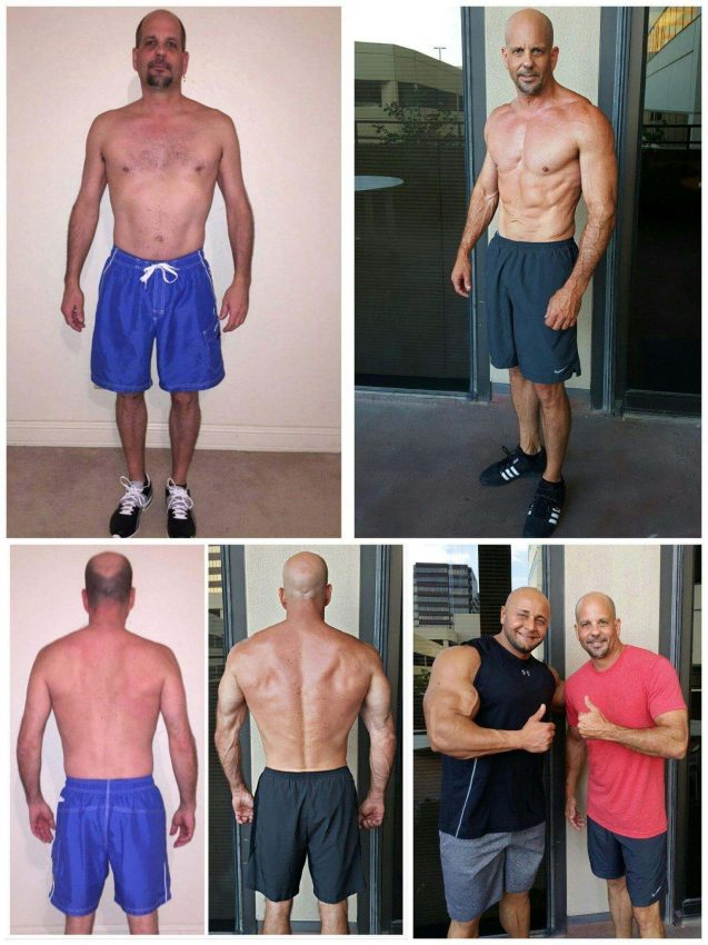 Dallas top muscle building trainer
