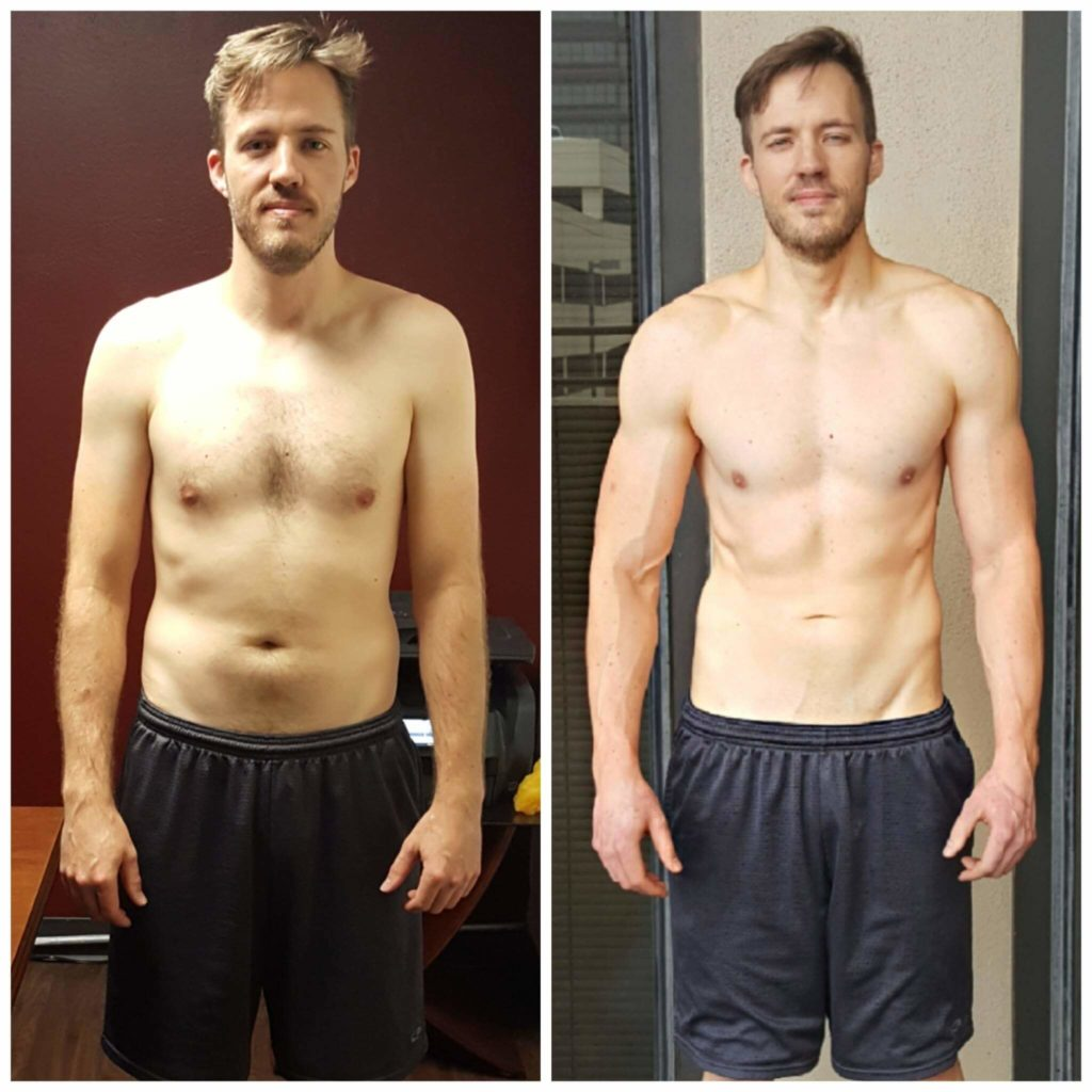 Brian muscle building trainer Dallas
