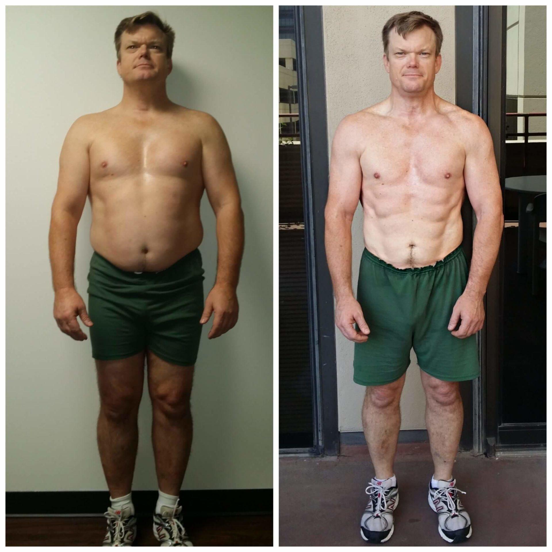 Derek weight loss personal trainer Dallas