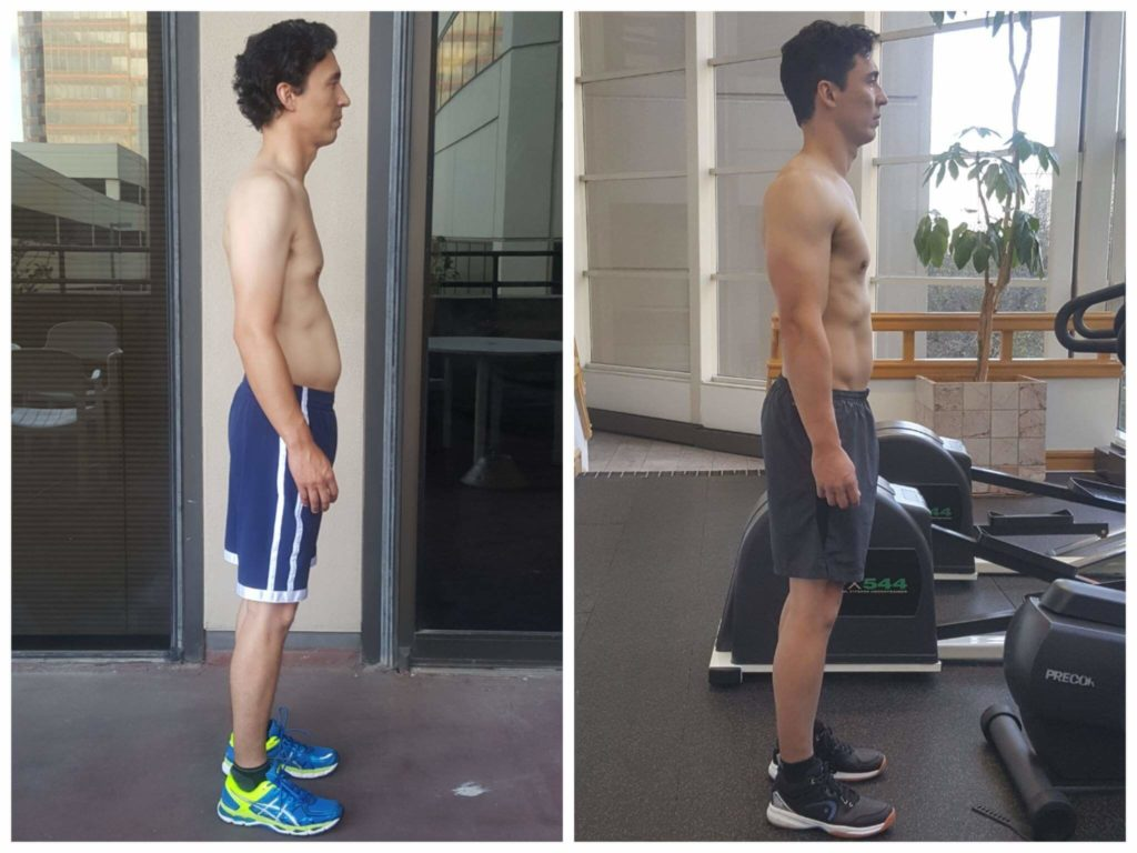 Hugh muscle building personal trainer Dallas