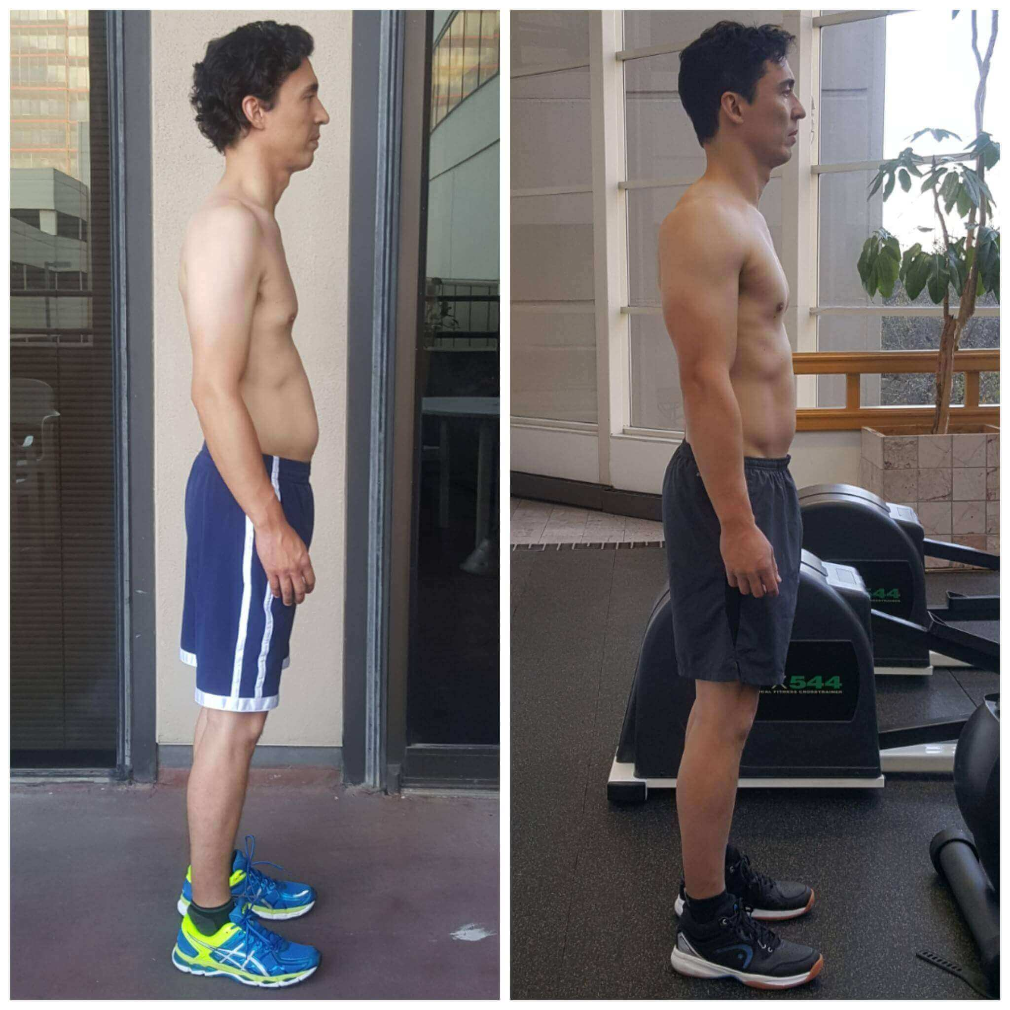 Hugh muscle building trainer Dallas