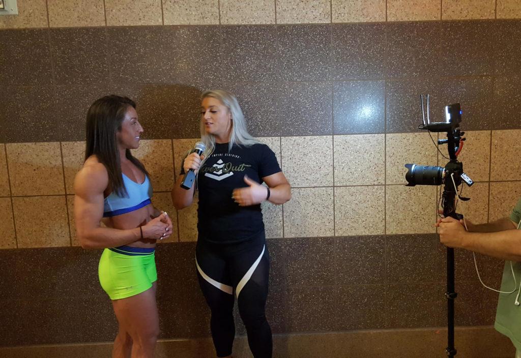 IFBB Pro Sarah Villegas Olympia interview