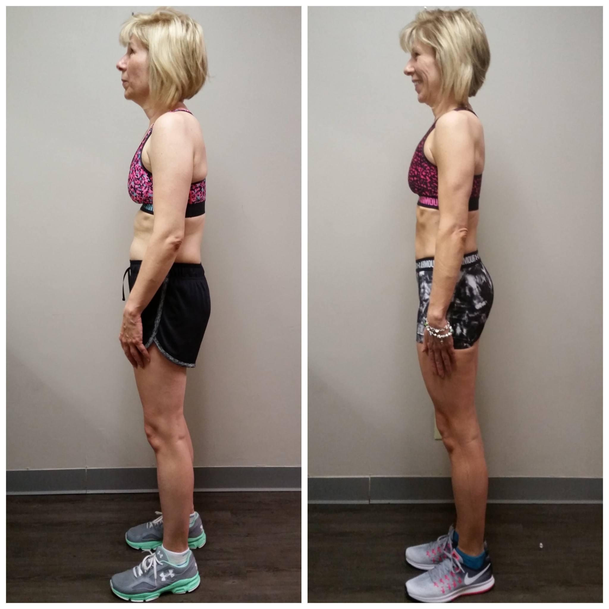Linda muscle toning top female trainer Dallas