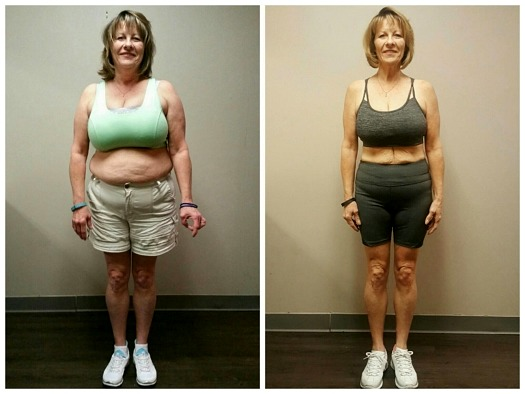 Lisa weight loss personal trainer Dallas