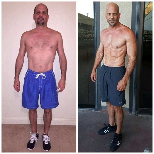 Mark muscle building trainer Dallas