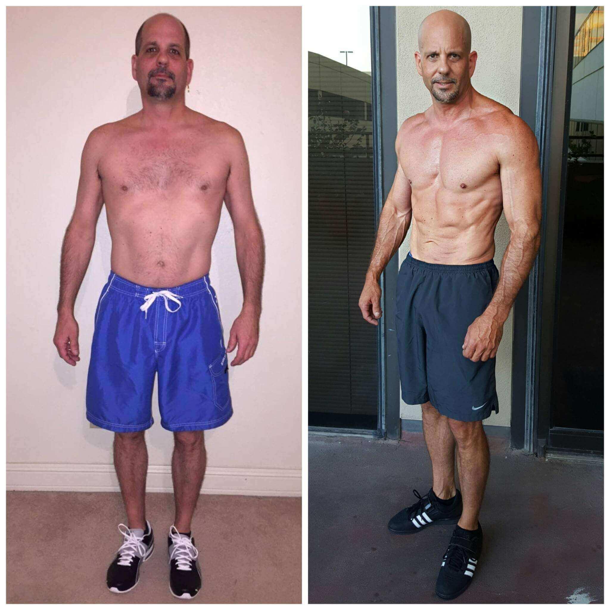 Mark muscle building trainer Dallas