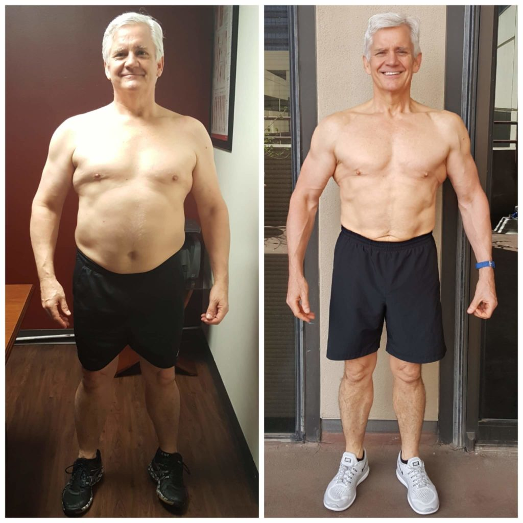 Mike muscle building for seniors Dallas