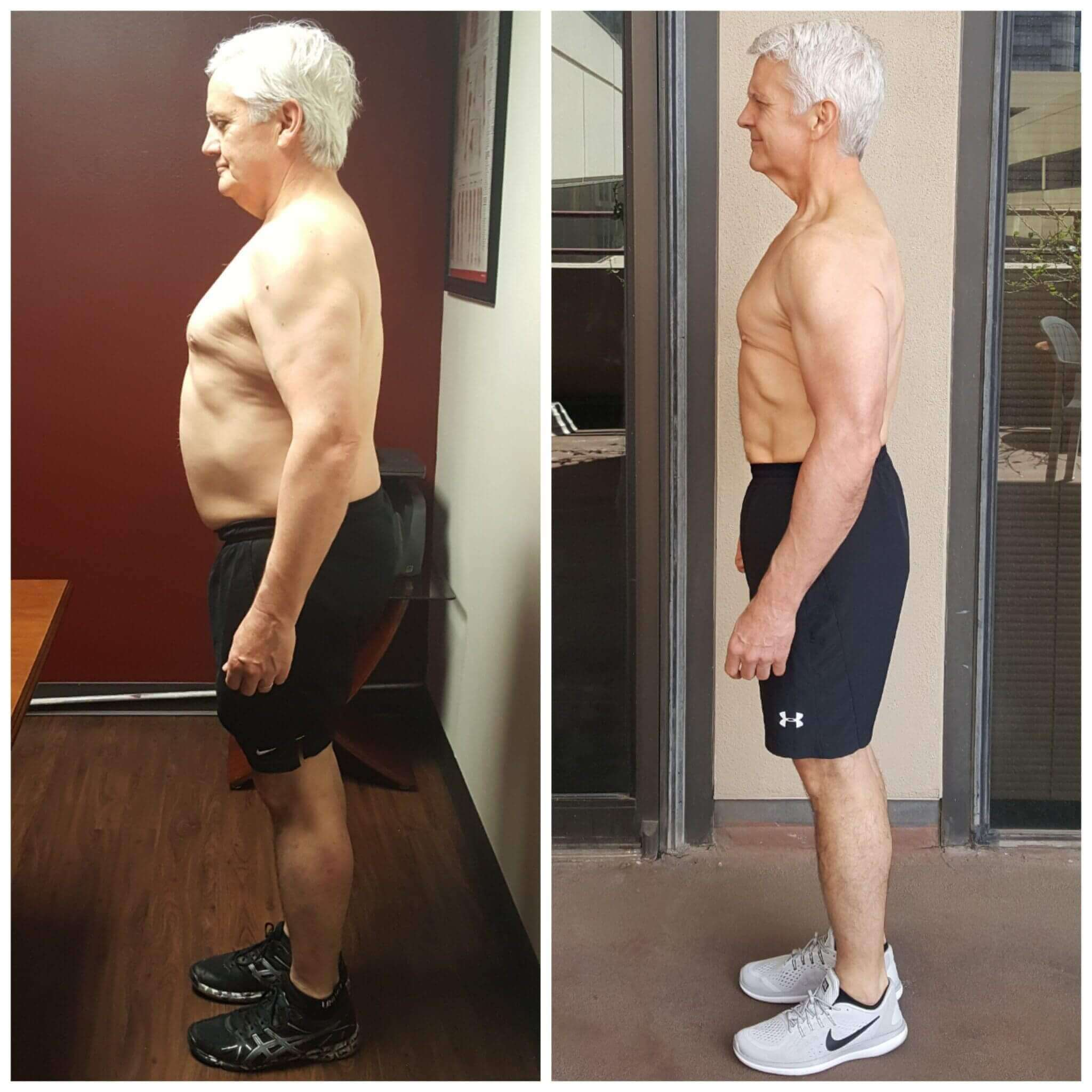 Mike weight loss personal training Dallas