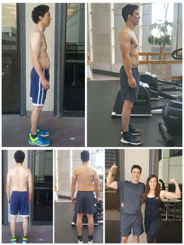Muscle building personal trainer Dallas