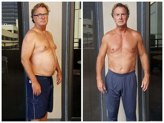 Rick weight loss personal trainer Dallas