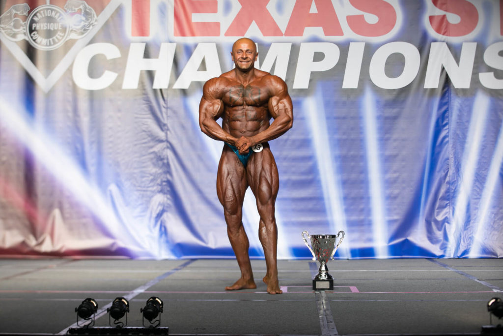 Texas state bodybuilding champion