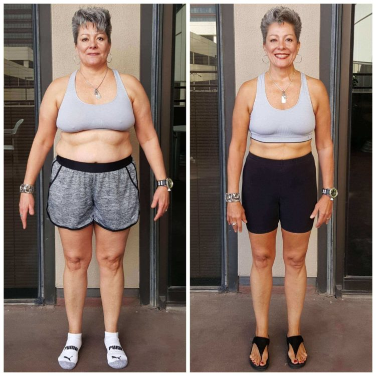 Tina Fitness Transformation personal training Dallas