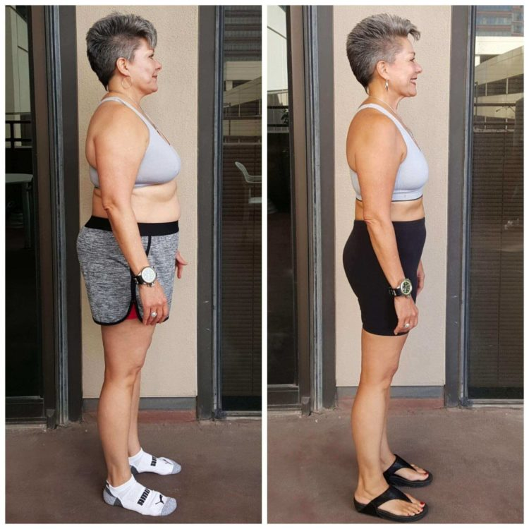 Tina weight loss personal training Dallas