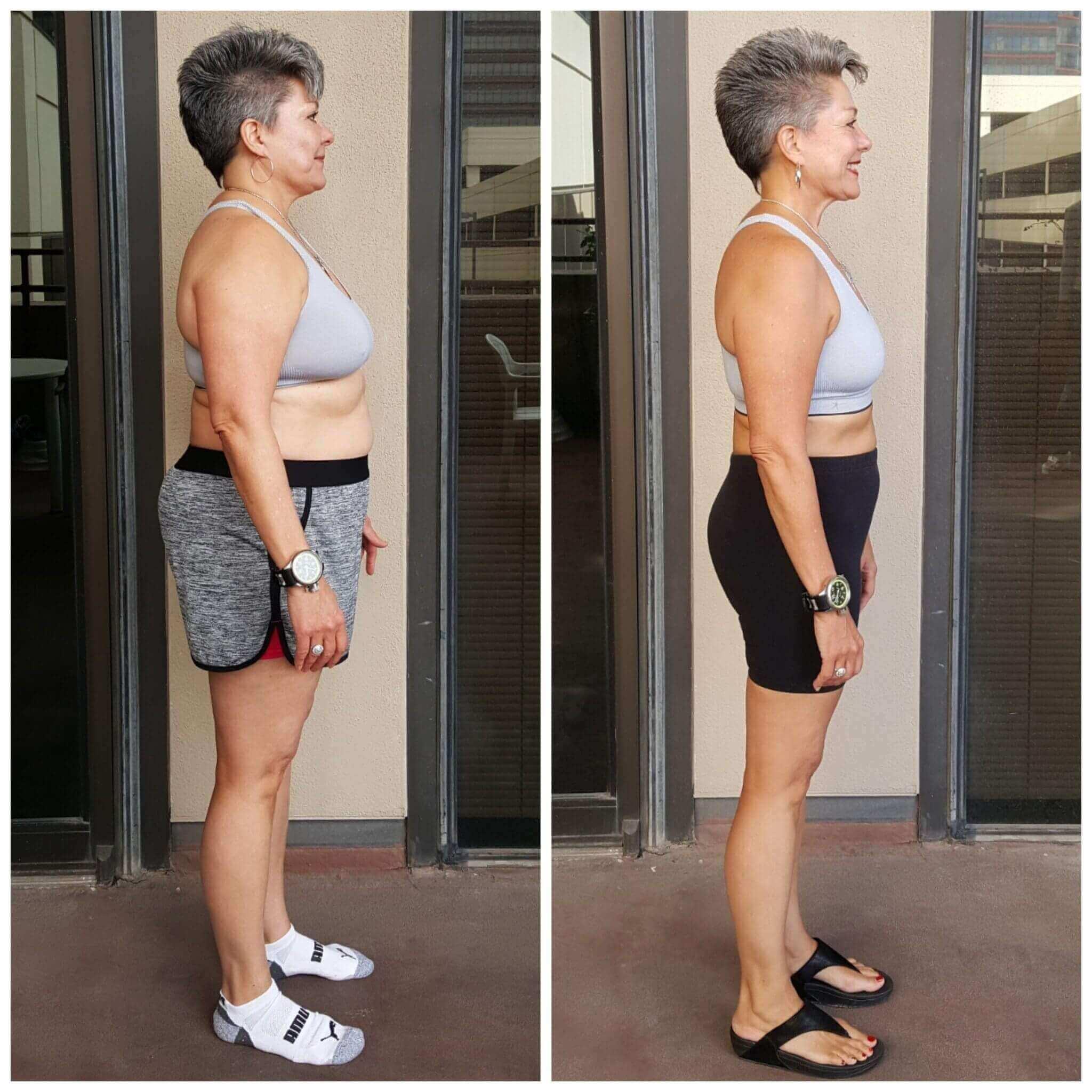 Tina weight loss personal training Dallas