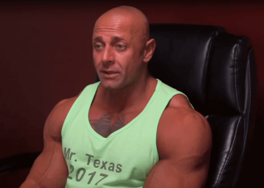 Dallas top personal trainer Mr. Texas, Ali Taktak