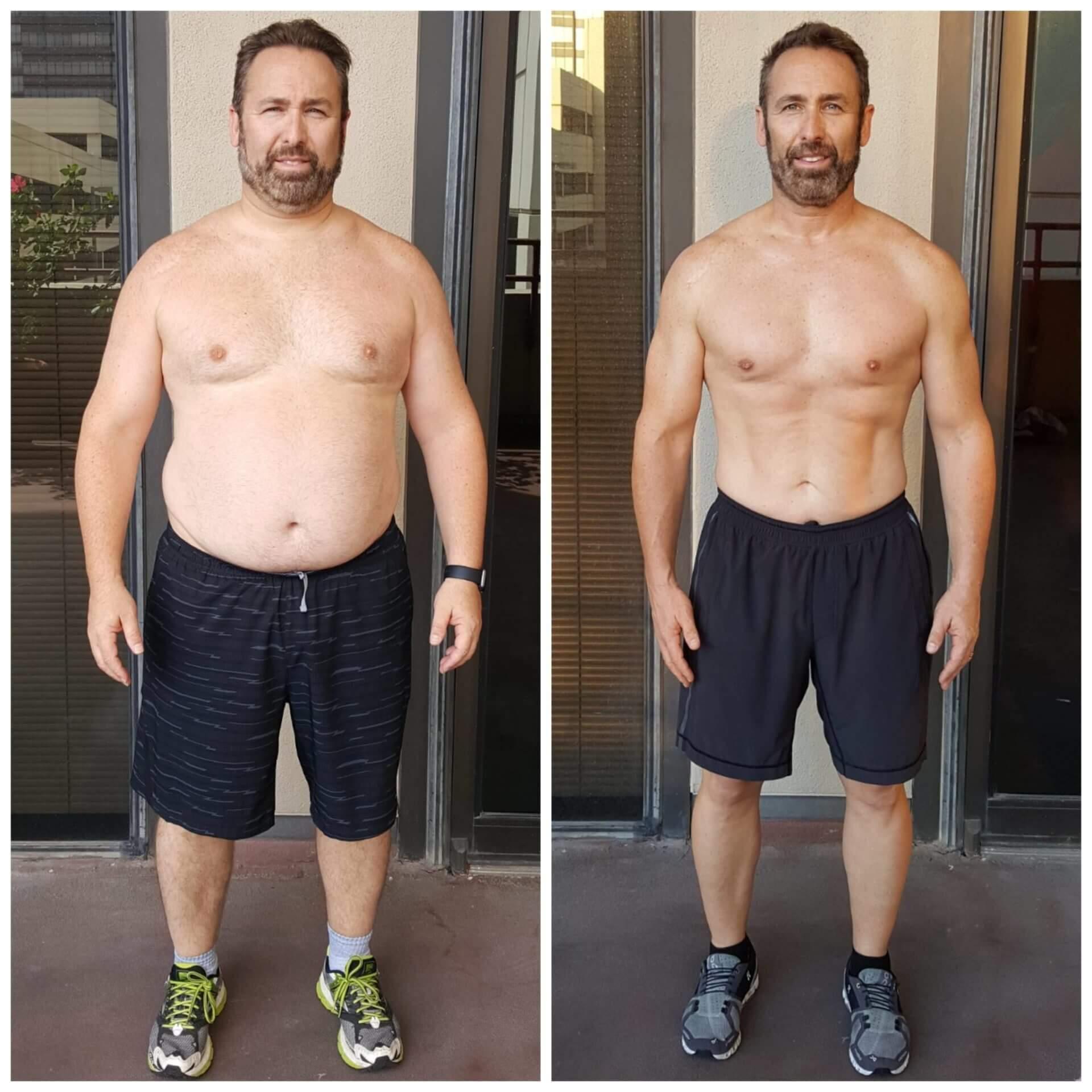 Brian weight loss personal trainer Dallas