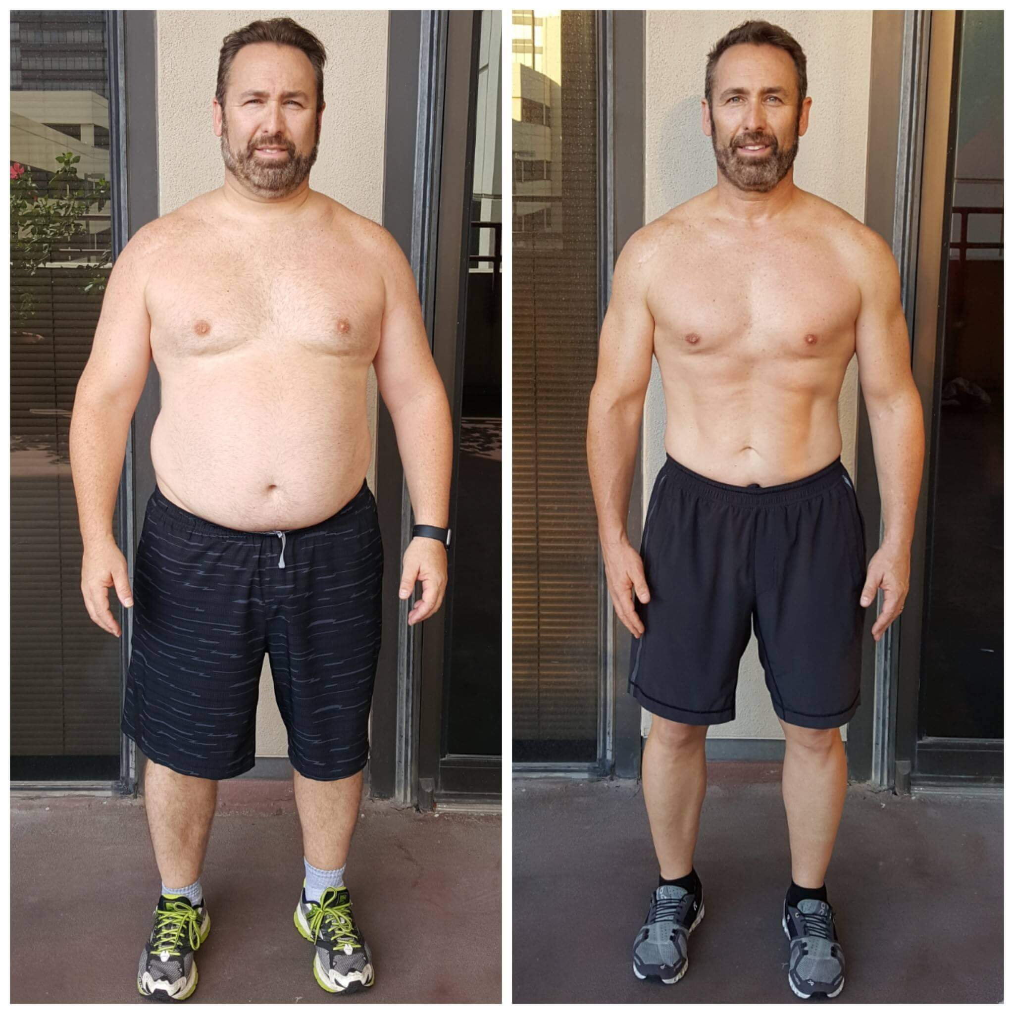 Brian weight loss personal trainer Dallas