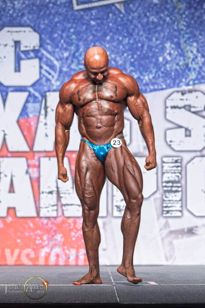 Texas state bodybuilding champion Ali Taktak