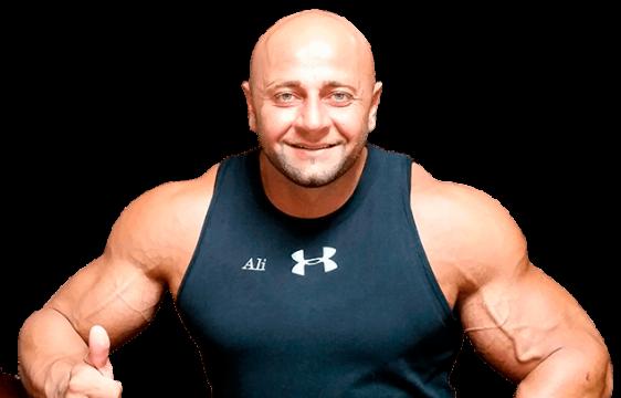 Dallas top personal trainer and sports nutritionist Ali Taktak