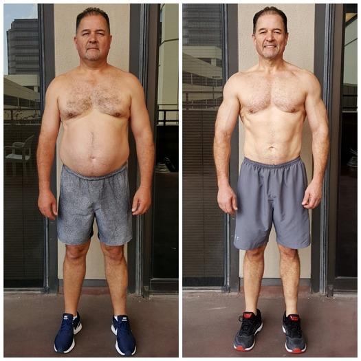 Grant bodybuilding personal trainer Dallas