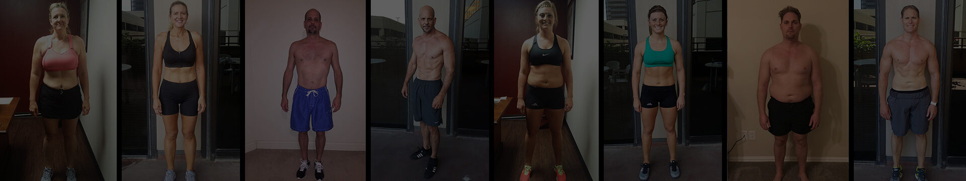 AFS Premier Fitness transformations banner