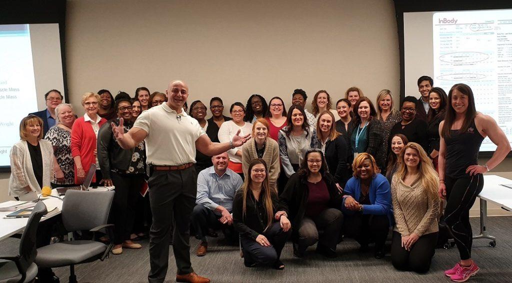AFS Premier Fitness Corporate Wellness Event Dallas