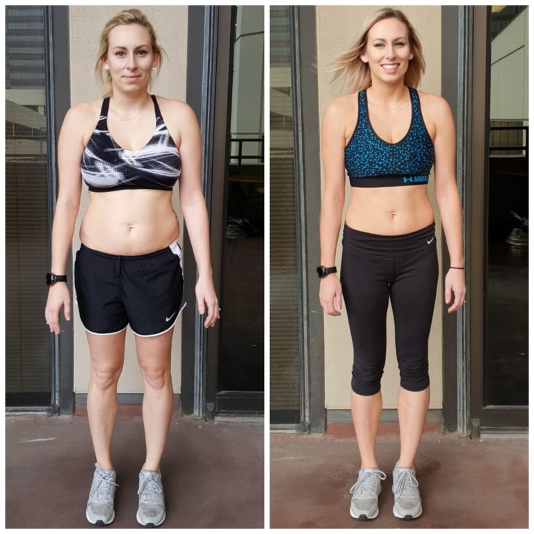 Katie weight loss and muscle toning at AFS Premier Fitness