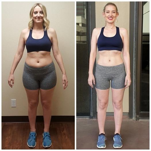 Danielle Transformation personal training Dallas Texas