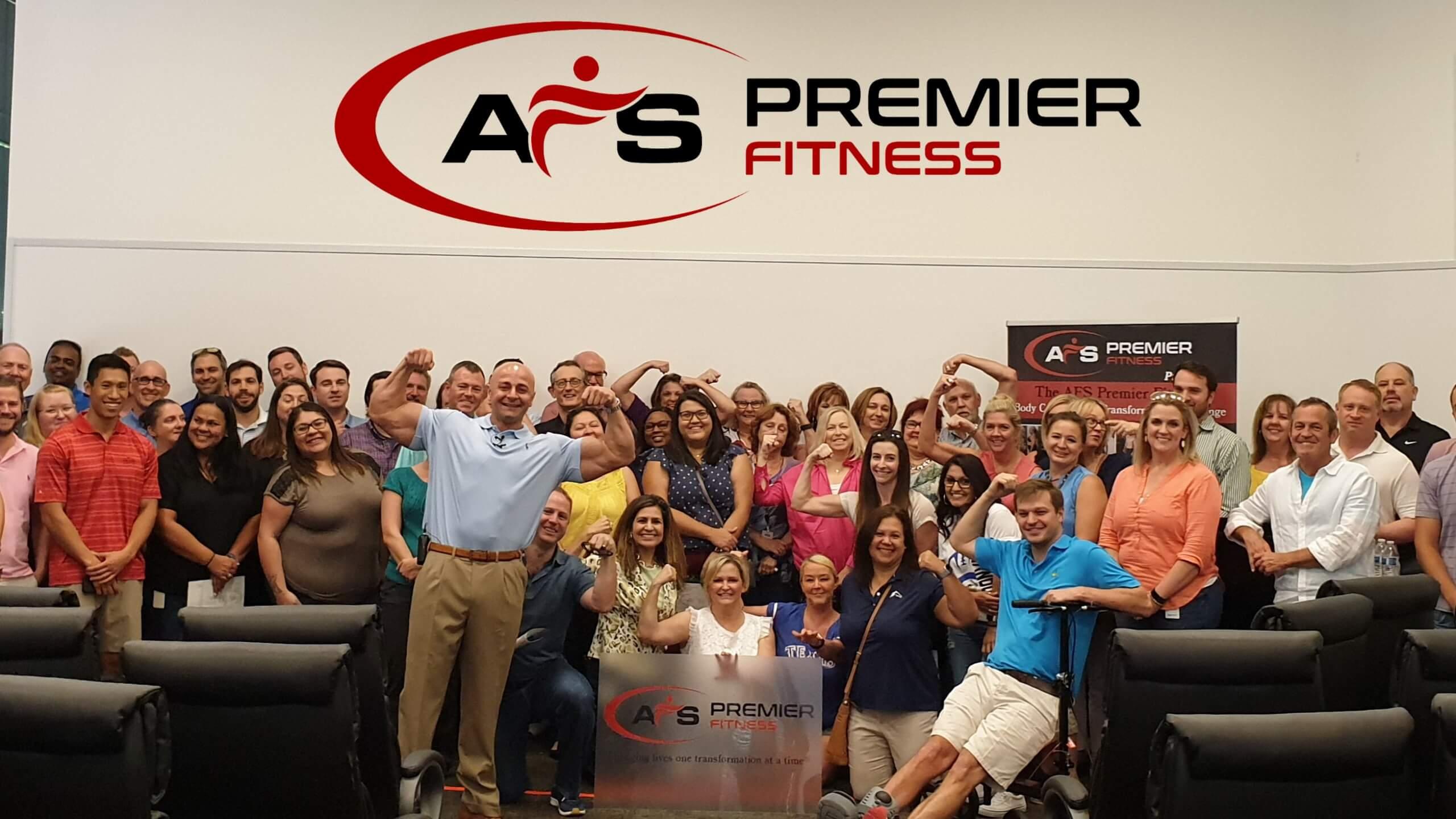 AFS Premier Fitness logo