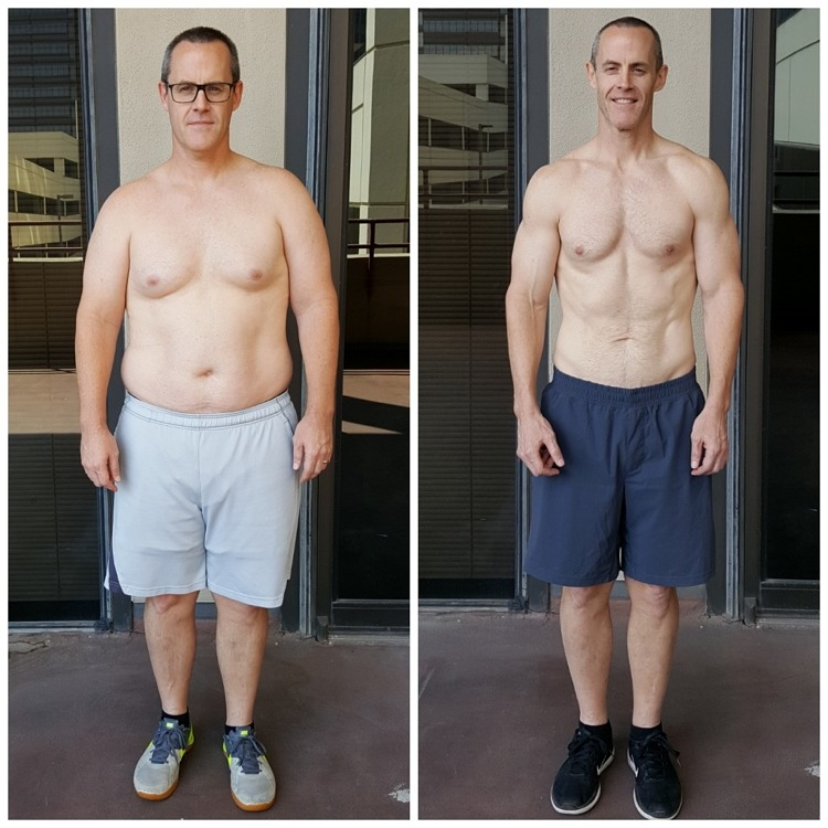 Scott Weight loss Dallas Personal Trainer