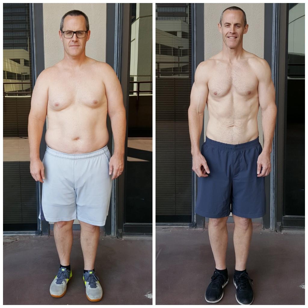 Scott Weight loss Dallas Personal Trainer