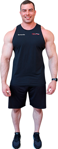 Personal trainer Bernardo