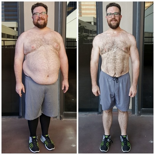 Jack weight loss with Dallas personal trainer at AFS Premier Fitness