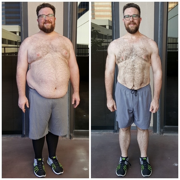Jack's personal training weight loss - Dallas AFS Premier Fitness
